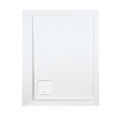 Sanplast Space Line B/SPACE Brodzik prostokątny 100x80x3 cm akrylowy, biały 615-110-0080-01-000