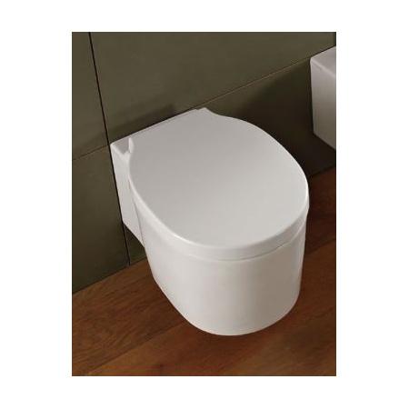 Scarabeo Bucket Deska sedesowa zwykła, biała 8814/A