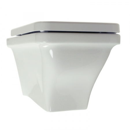 Scarabeo Butterfly Muszla klozetowa miska WC podwieszana 52,5x36,5x34 cm, biała 4006