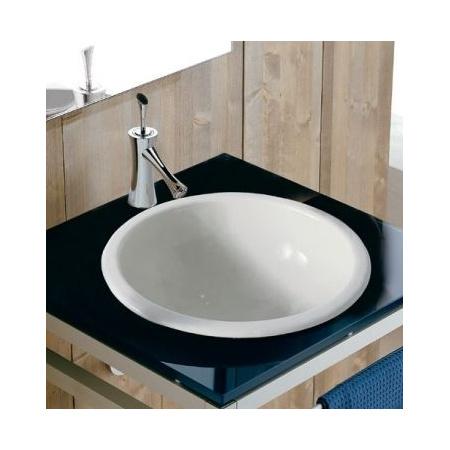 Scarabeo In-out Umywalka wpuszczana w blat 29,5x16 cm, biała 8020