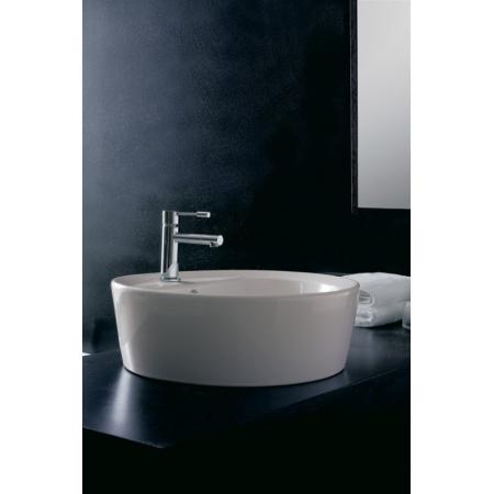 Scarabeo Matty Umywalka wpuszczana w blat 46x46x30 cm, biała 8055/A/R