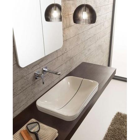 Scarabeo Mizu Pokrywa do umywalki 70 cm, biała 9010