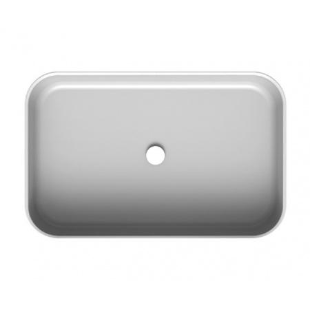 Scarabeo Mizu Umywalka nablatowa 70x45 cm, biała 9007