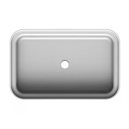 Scarabeo Mizu Umywalka wpuszczana w blat 70x45 cm, biała 9008