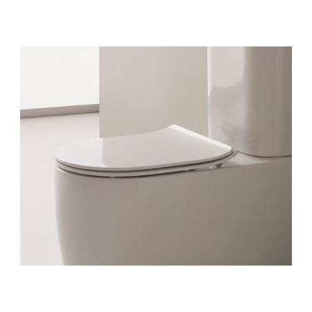 Scarabeo Moon Deska sedesowa zwykła, biała 5530/A