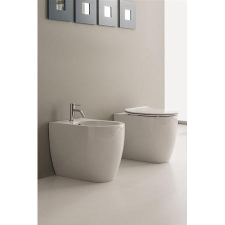 Scarabeo Moon Muszla klozetowa miska WC stojąca 54,5x36x42 cm, biała 5522