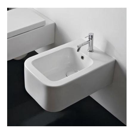 Scarabeo Next Bidet podwieszany 55x35x20 cm, biały 8302