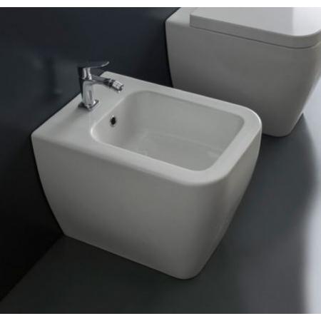 Scarabeo Next Bidet stojący 54,5x35,5x42 cm, biały 8310