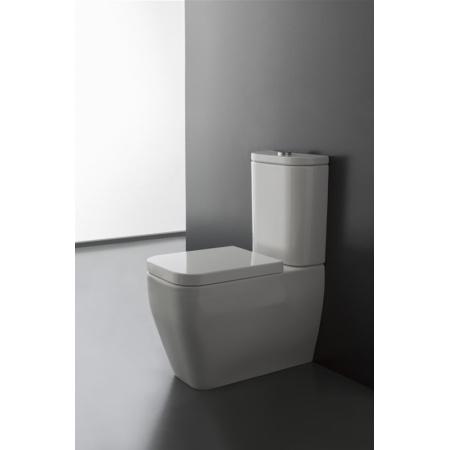 Scarabeo Next Muszla klozetowa miska WC kompaktowa 66x36x42 cm, biała 8311
