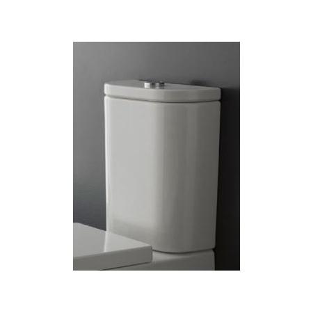Scarabeo Next Zbiornik WC kompaktowy 36x15x44 cm, biały 8312