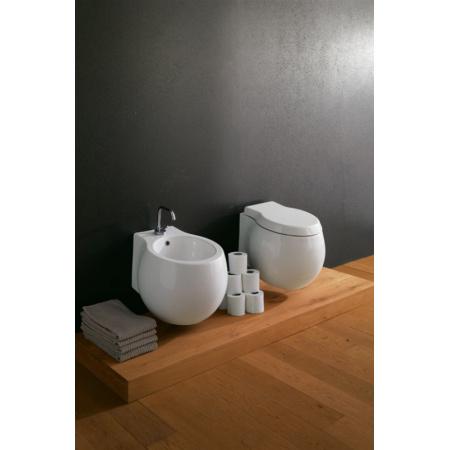 Scarabeo Planet Toaleta WC podwieszana 50x45 cm, biała 8105