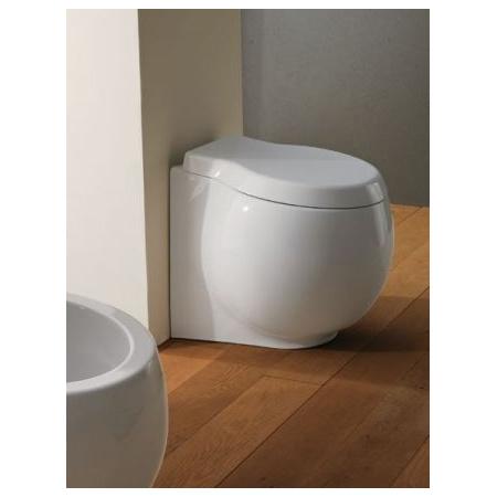Scarabeo Planet Muszla klozetowa miska WC stojąca 50x45x44,5 cm, biała 8401