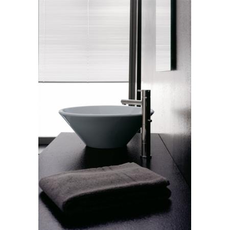 Scarabeo Thin-Line Umywalka nablatowa 42x42x15 cm, biała 8010
