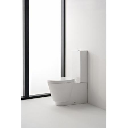 Scarabeo Wish Muszla klozetowa miska WC kompaktowa 72x35x42 cm, biała 2013