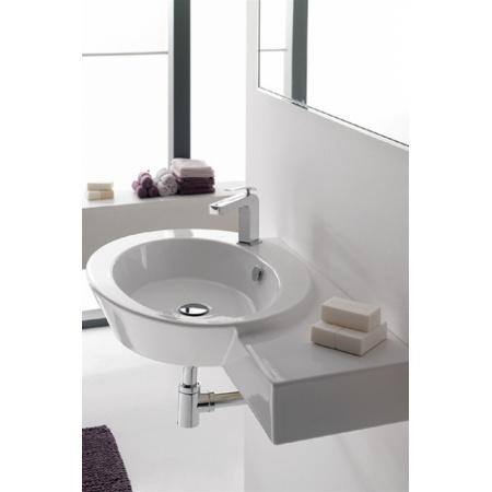 Scarabeo Wish Umywalka wisząca lub nablatowa 87x52x13,5 cm, biała 2011