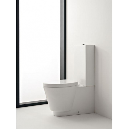 Scarabeo Wish Zbiornik WC kompaktowy 35,5x14x60 cm, biały 2020
