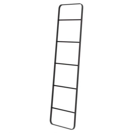 Sealskin Brix Drabina na ręczniki, czarny mat 362474619