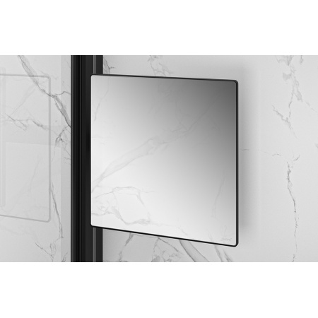 Huppe Select+ Organizer Mirror Lustro ruchome 21,3x21,3 cm, czarne Black Edition SL2301123