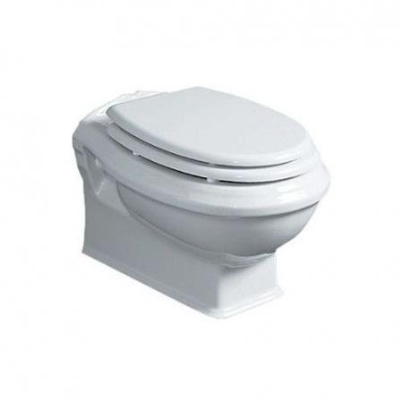 Simas Arcade Muszla klozetowa miska WC podwieszana 37x51 cm, biała AR841