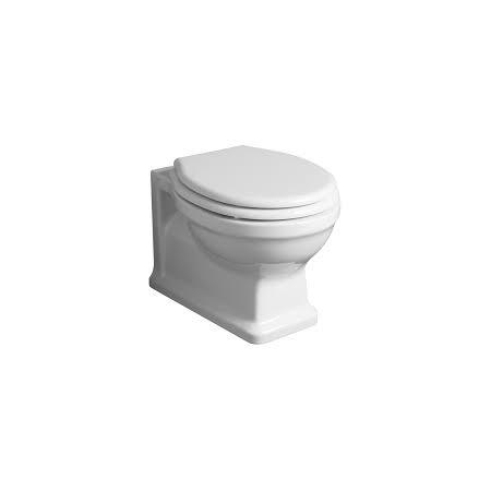 Simas Londra Muszla klozetowa miska WC podwieszana 51,5x36,5 cm, biała LO918