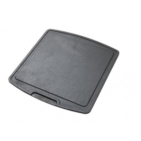 Skeppshult Płyta grillowa, do smażenia dwustronna 35,5x32,5 cm, czarna 0381