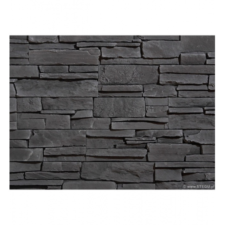 Stegu Grenada 5 Kamień elewacyjny 55x11,5 cm, graphite STEGRENKEGRA