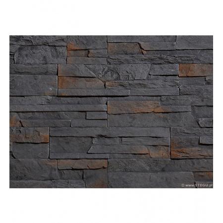 Stegu Nepal 3 Kamień dekoracyjny 38,5x10 cm, graphite STENEP3KD3810GRA