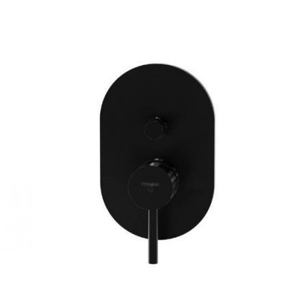 Steinberg 100 Bateria wannowo-prysznicowa ścienna, czarny mat 100 2103 S