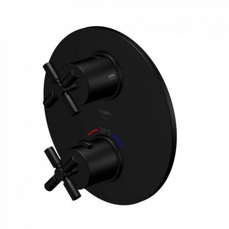 Steinberg 250 Bateria prysznicowa termostatyczna, czarny mat 250 4133 S