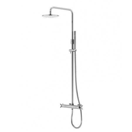 Steinberg 250 Zestaw prysznicowy z deszczownicą i baterią termostatyczną, chrom 2502721