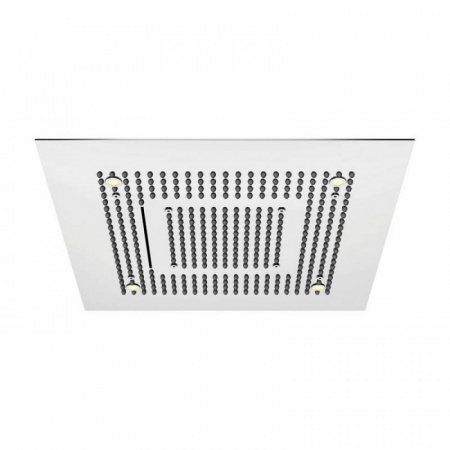 Steinberg 390 Sensual Rain Deszczownica kwadratowa 60x60 cm z diodami LED, stal szlachetna chromowana 3906620
