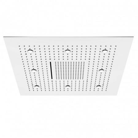Steinberg 390 Sensual Rain Deszczownica kwadratowa 80x80 cm z diodami LED, stal szlachetna chromowana 3906680