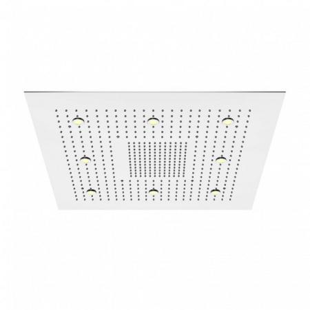 Steinberg 390 Sensual Rain Deszczownica kwadratowa 80x80 cm z diodami LED, stal nierdzewna polerowana 3906822