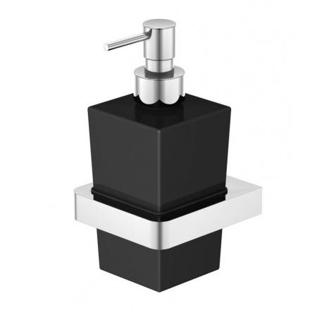 Steinberg 420 Dozownik na mydło wiszący, chrom/czarny 4208002
