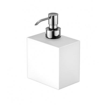 Steinberg 460 Dozownik na mydło chrom/biały 4608101