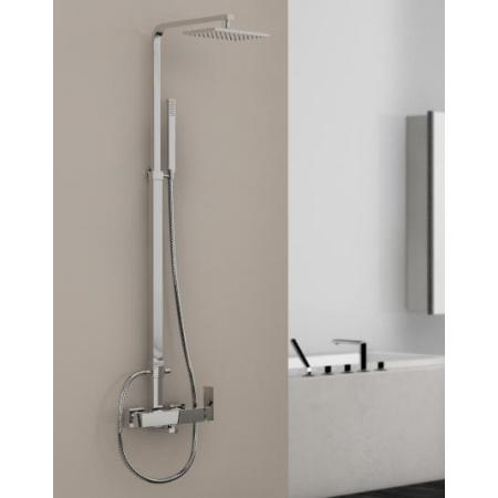 Steinberg 160 Zestaw prysznicowy z deszczownicą, chrom 1602761