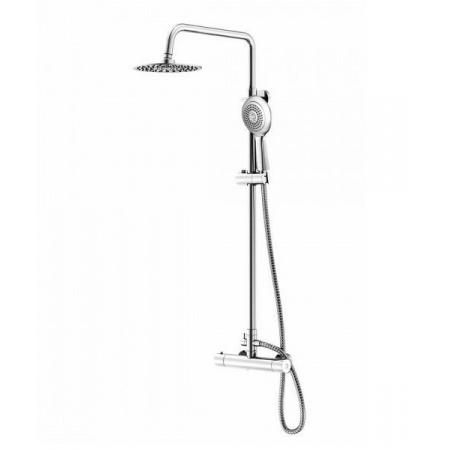 Steinberg Triple One Zestaw prysznicowy natynkowy termostatyczny z deszczownicą, chrom 1112721