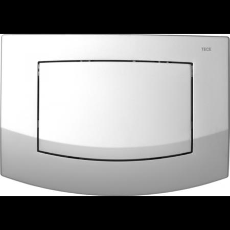 Tece Ambia Przycisk spłukujący do WC z tworzywa, chrom matowy 9240125