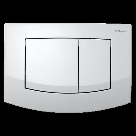 Tece Ambia Przycisk spłukujący do WC z tworzywa, biały, antybakteryjny 9240240