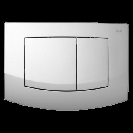 Tece Ambia Przycisk spłukujący do WC z tworzywa, chrom matowy 9240225