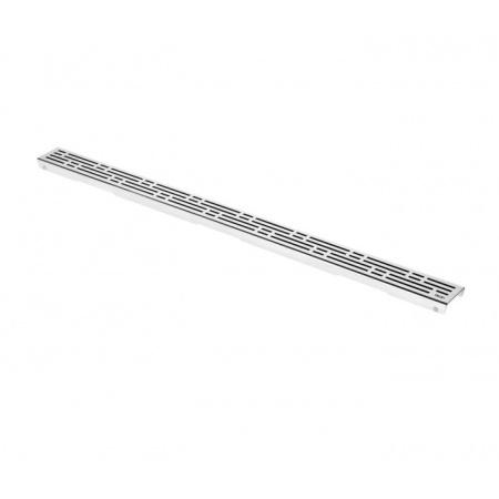 Tece Drainline Basic Ruszt do odpływu liniowego 100 cm stal polerowana 601010