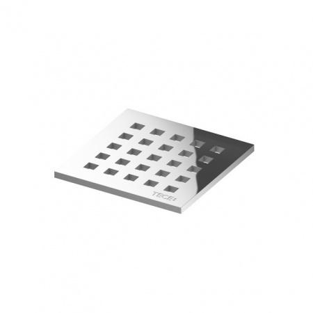 Tece Drainpoint S Ruszt ozdobny ze stali nierdzewnej quadratum 10x10 cm, 3665006