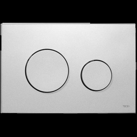 Tece Loop Przycisk spłukujący do WC z tworzywa, chrom matowy 9240625