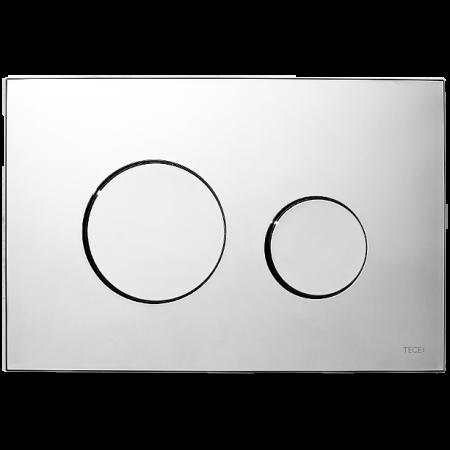 Tece Loop Przycisk spłukujący do WC z tworzywa, chrom połysk 9240626