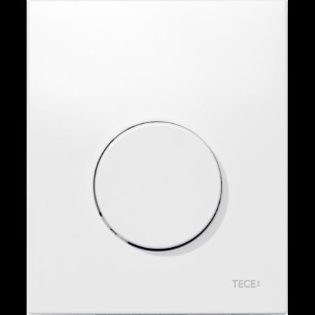 Tece Loop Przycisk spłukujący do pisuaru z tworzywa, biały, antybakteryjny 9242640