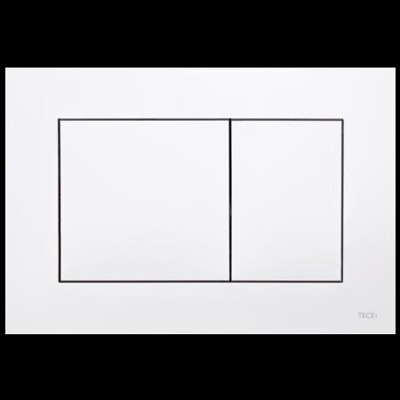 Tece Now Przycisk spłukujący do WC z tworzywa, biały 9240400