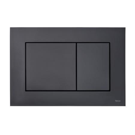 Tece Now Przycisk spłukujący WC czarny mat 9.240.407