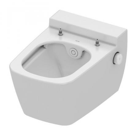 Tece One Toaleta WC myjąca 54x40 cm bez kołnierza biała 9700200