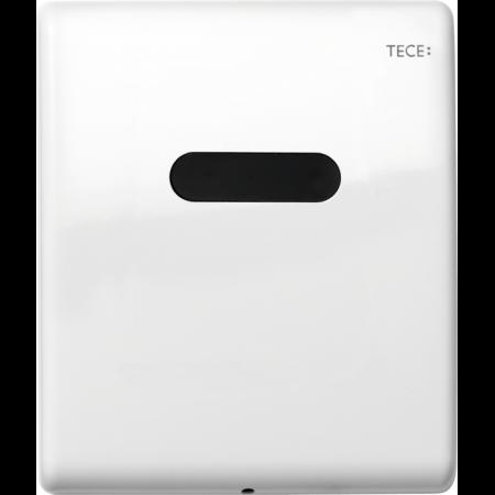 Tece Planus Przycisk spłukujący do pisuaru metalowy, bezdotykowy, biały połysk 9242356