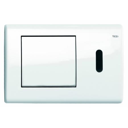 Tece Planus Przycisk spłukujący do WC metalowy, bezdotykowy, biały połysk 9240361